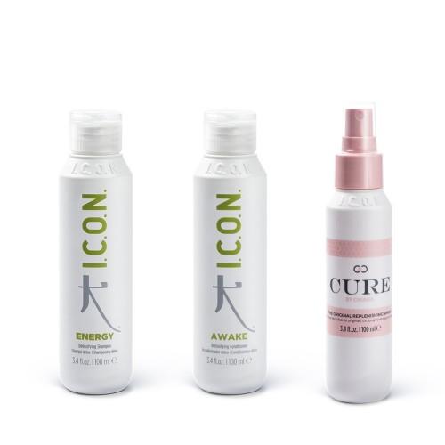 Energy + Awake + Cure Spray