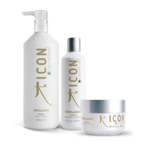 Pack Organic Champú Litro + Acondicionador + Tratamiento